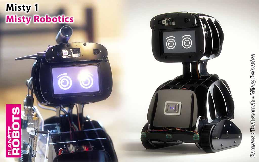 Misty 1 de chez Misty Robotics disponible pour les développeurs