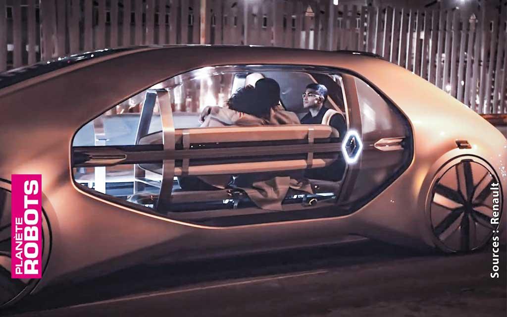 Le taxi sera easy et autonome pour Renault