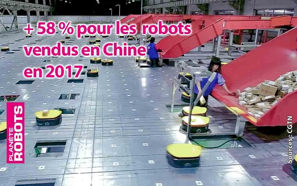 Nouveau record économique pour la robotique en Chine