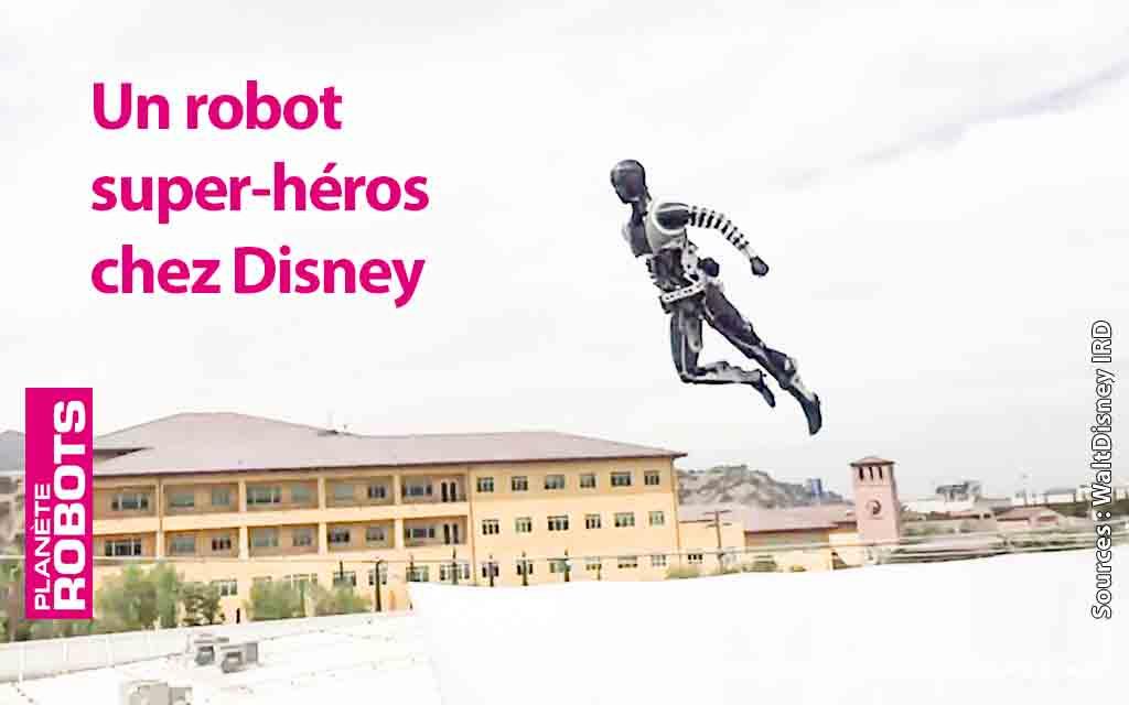 Nouvelles avancées technologiques pour les robots acrobates chez Disney