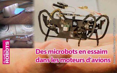 Y a-t-il des robots en essaim dans l'avion ?
