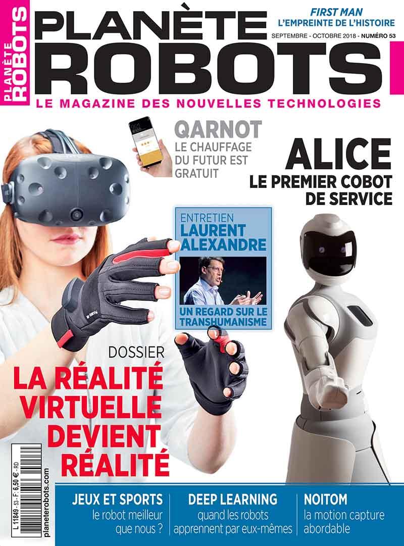 Planète Robots n° 53 – Extrait de 16 pages