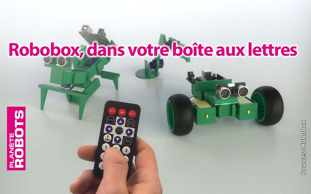 Robobox, des robots à monter soi-même tous les mois dans la boîte aux lettres