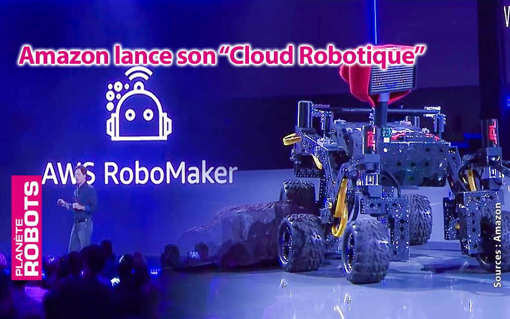 Amazon lance son Cloud Robotique