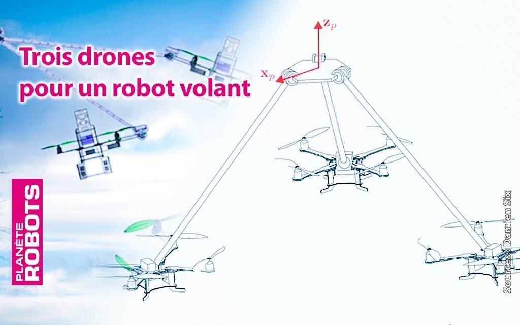 Plusieurs robots volants c'est parfois mieux qu'un seul drone
