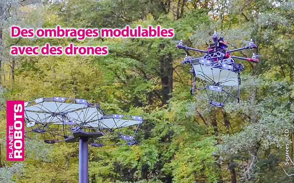Des drones architectes de l'ombre