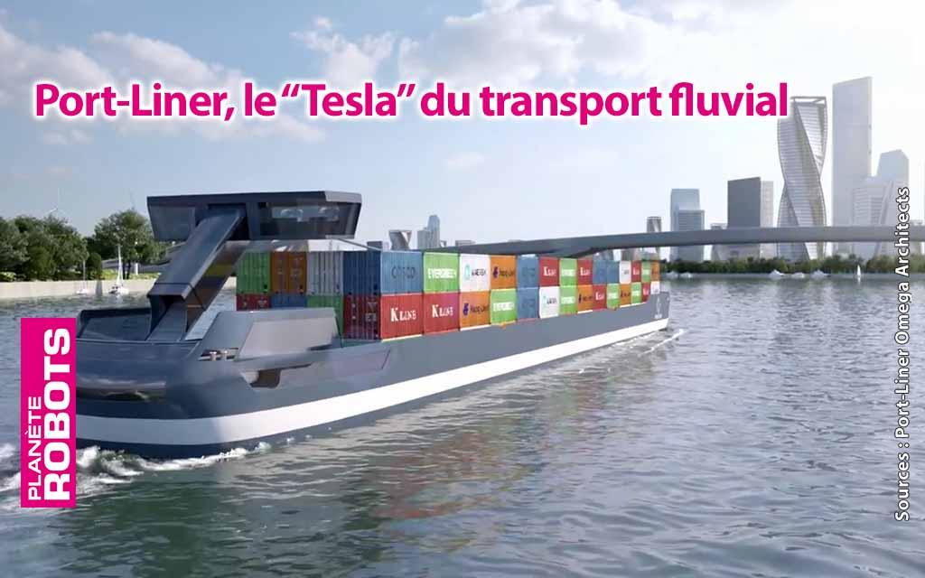 Port-Liner réinvente les transports maritimes