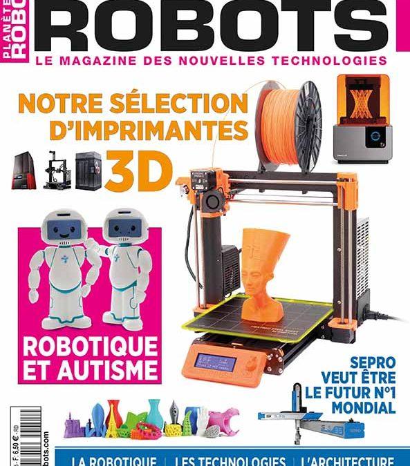 Planète Robots n° 55 – Extrait de 17 pages