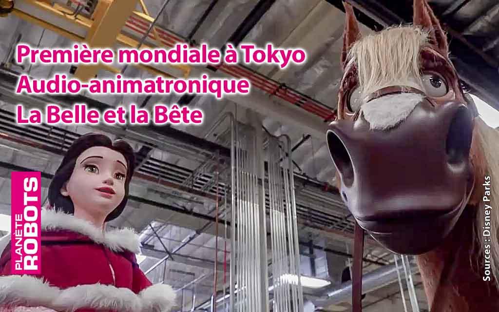 Les robots de La Belle et la Bête en 2020 à Tokyo !
