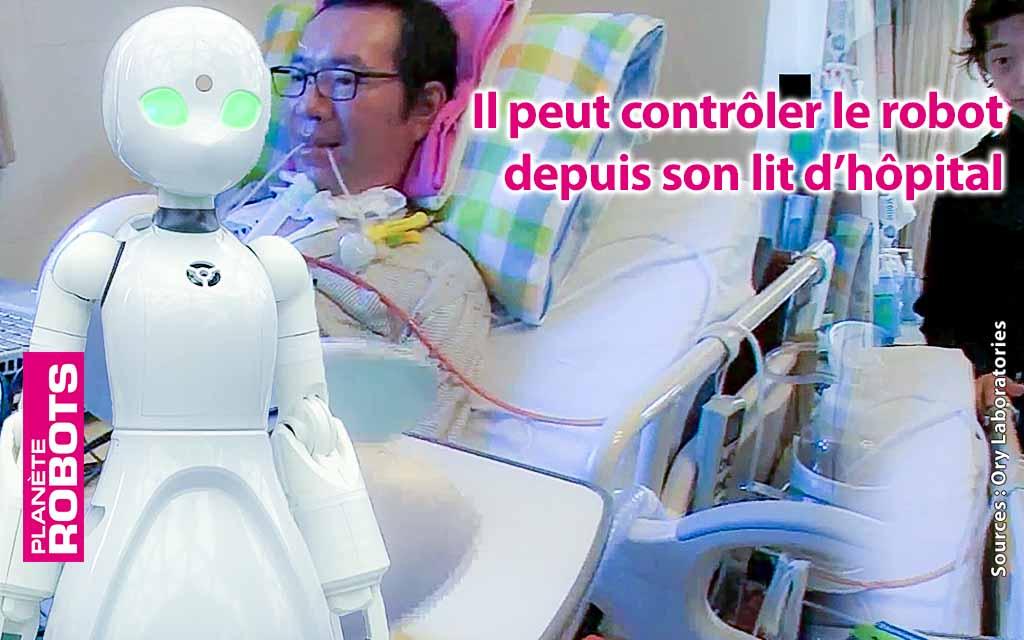 Ory développe des robots avatars pour personnes handicapées