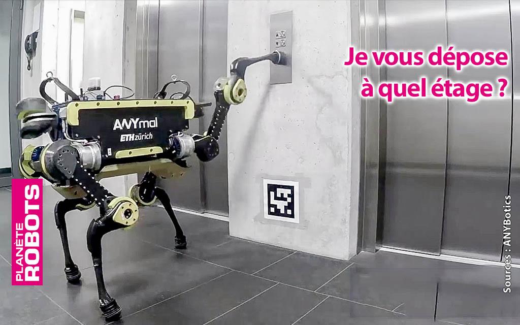 ANYmal un robot quadrupède qui s'adapte à toutes les situations