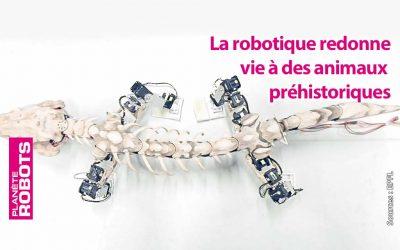 Des empreintes fossiles aux robots quadripodes