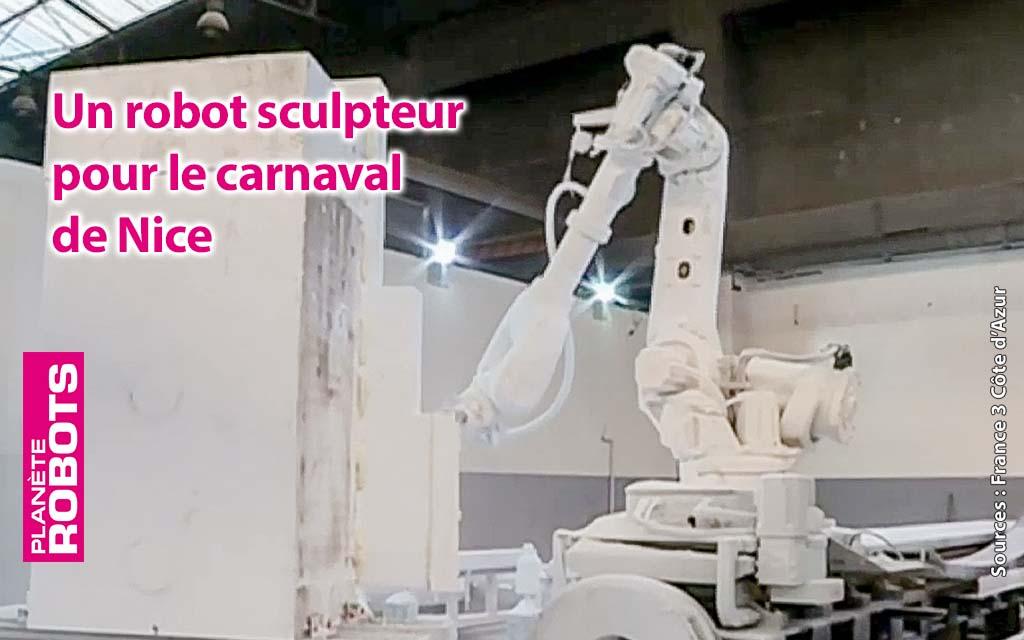 Des chars du carnaval de Nice en avance de planning grâce aux robots