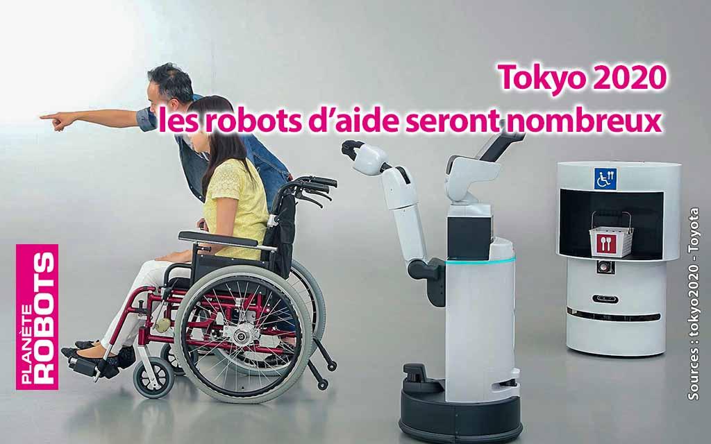 Pour les jeux olympiques 2020 de Tokyo, les robots en force !