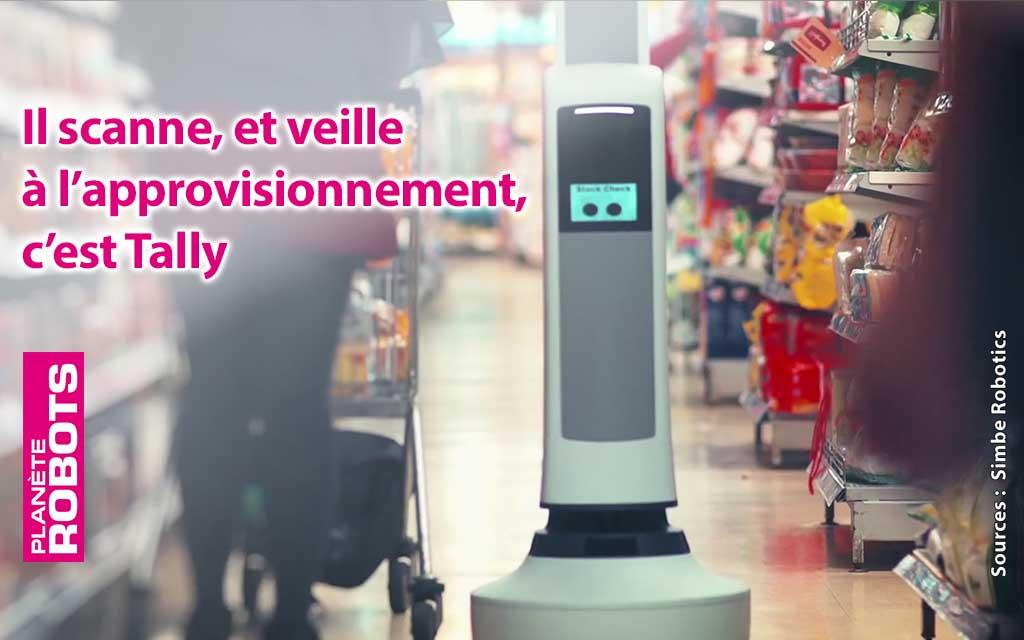 Des robots pour faire les inventaires dans les magasins