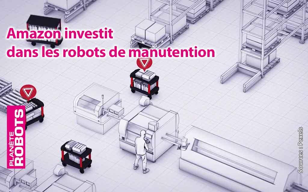 Amazon investit toujours plus dans les systèmes automatisés