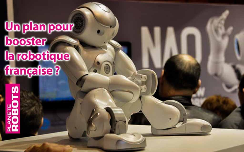 Un plan national pour une robotique française