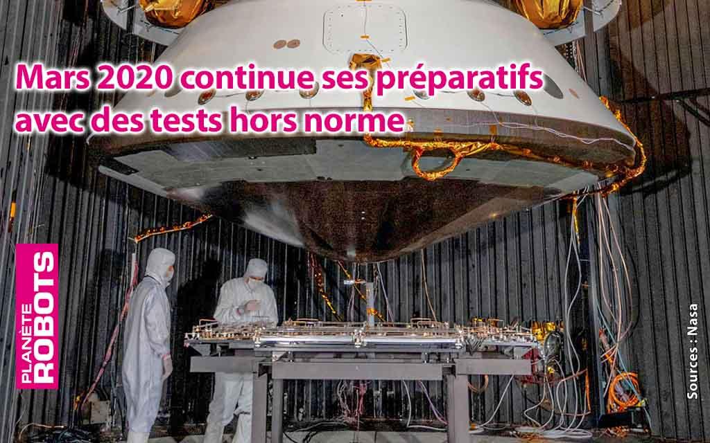 Le compte à rebours est lancé pour la mission mars 2020.