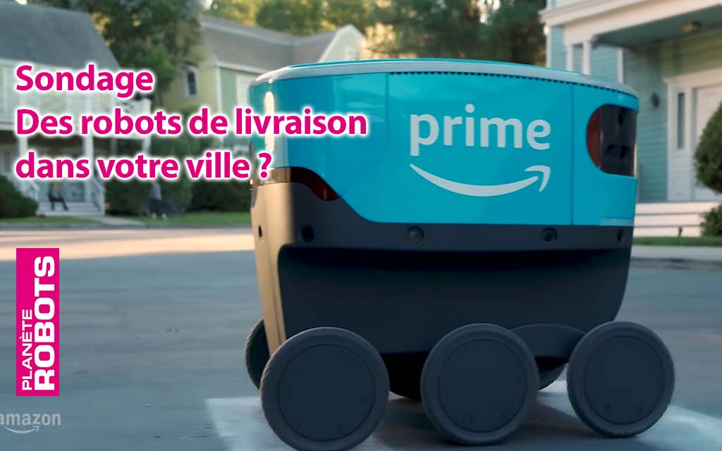 Les robots de livraison sollicitent votre avis.