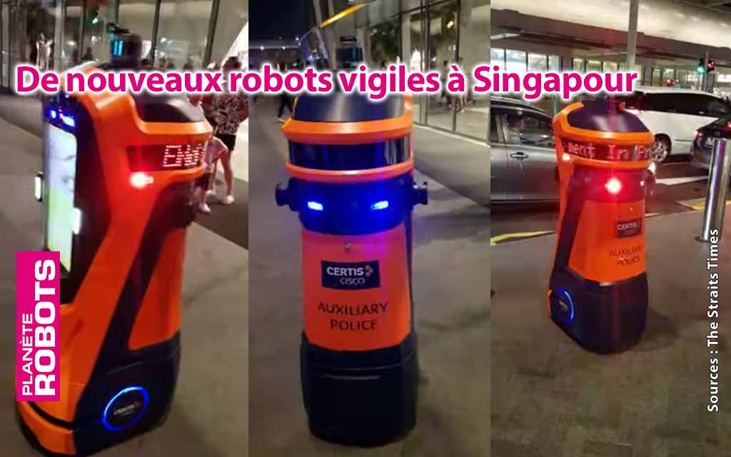 Toujours plus de robots au Jewel Changi Airport