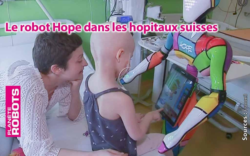 Les robots ont une place de soutien auprès des malades dans les hôpitaux.