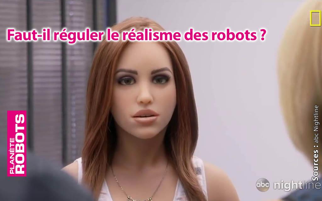Les robots sexuels plus vrais que nature ?
