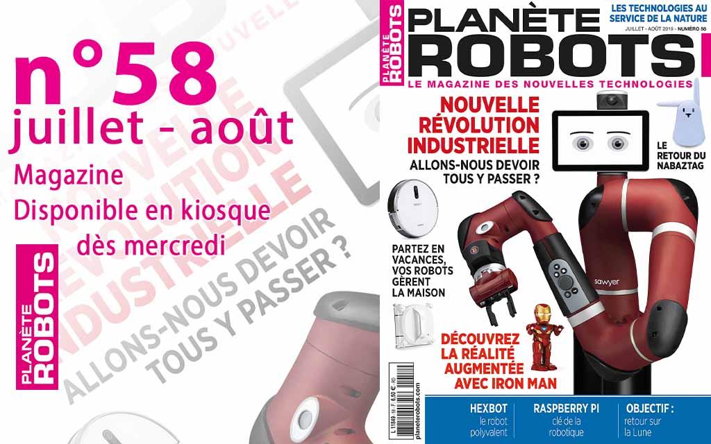 Le Planète Robots de juillet-août bientôt en kiosque