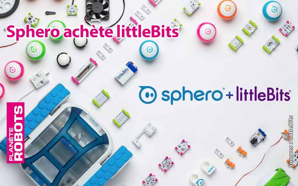 Sphero roule pour l'éducation robotique en achetant Littlebits