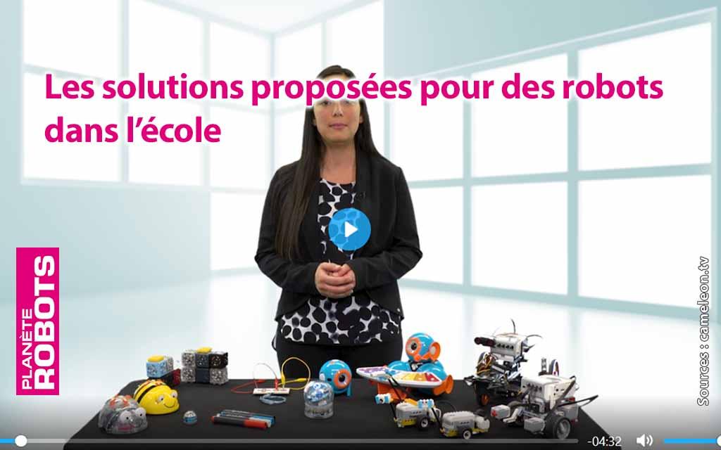 Les robots à l'école : De nombreuses solutions existent
