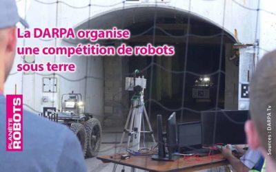 La DARPA organise une compétition souterraine de robots.