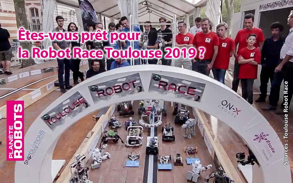 Toujours plus de robots pour la Robot Race à Toulouse