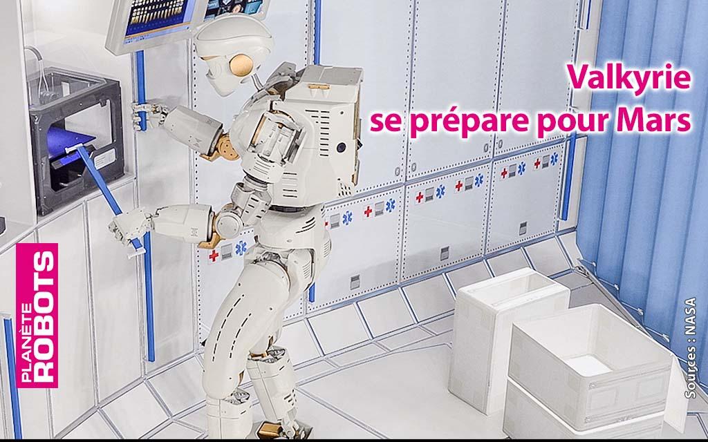 La NASA recrute pour la mise à jour de Valkyrie