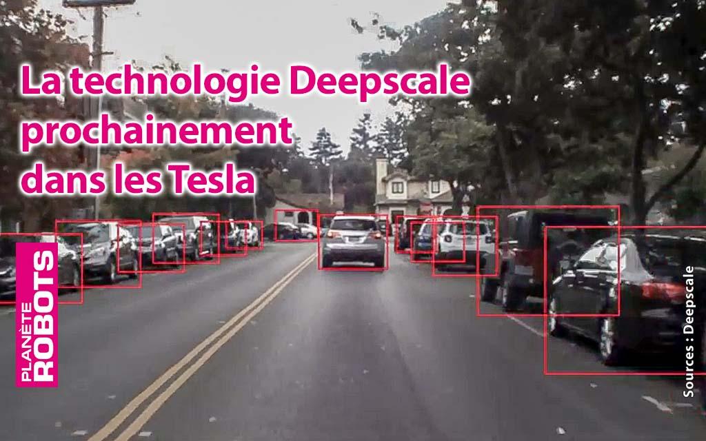 DeepScale en cours d'acquisition par Tesla