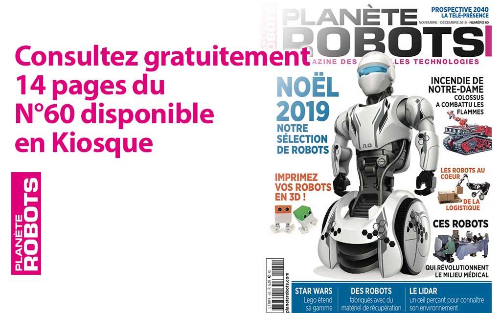 L'extrait gratuit du N°60 de Planète Robots est disponible !