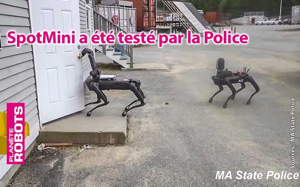 SpotMini a été testé par la police