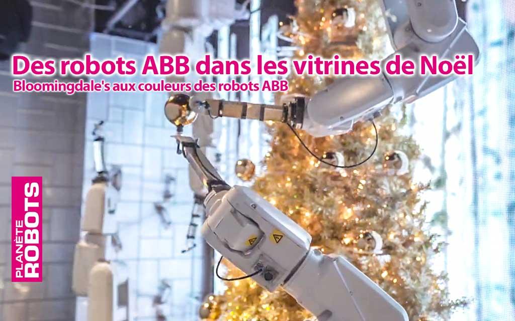 Bloomingdale's aux couleurs des robots ABB