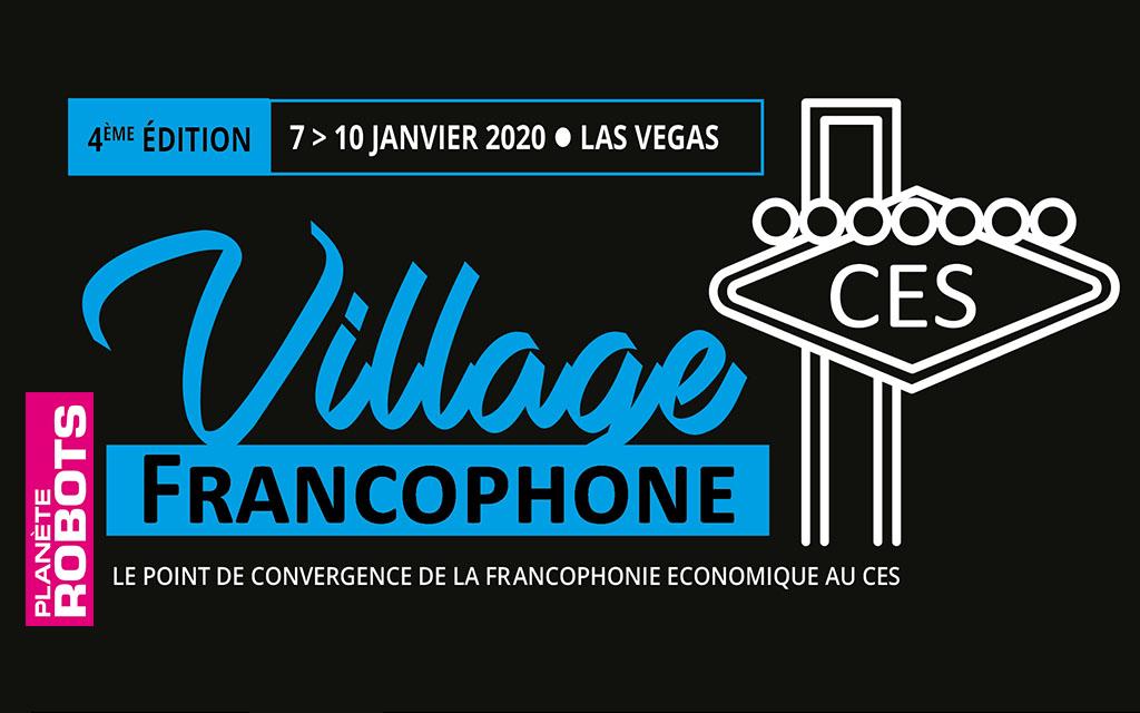 Planète Robots, partenaire du Village Francophone au CES 2020 de Las Vegas