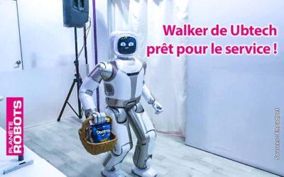 Walker de Ubtech prêt pour le service